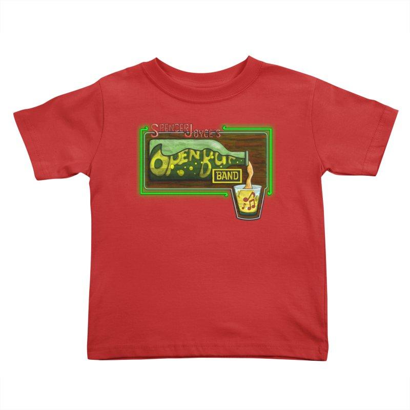 Spencer Joyce's Open Bar Kids Toddler T-Shirt by MD Design Labs's Artist Shop