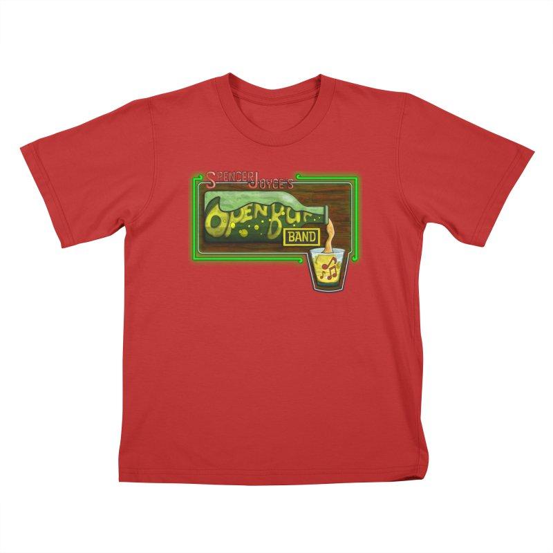 Spencer Joyce's Open Bar Kids T-Shirt by MD Design Labs's Artist Shop