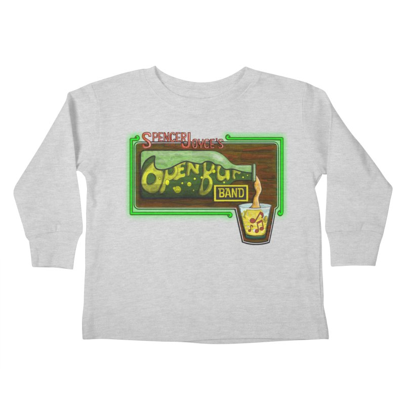 Spencer Joyce's Open Bar Kids Toddler Longsleeve T-Shirt by MD Design Labs's Artist Shop