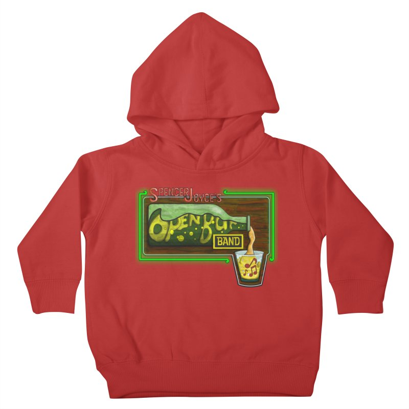 Spencer Joyce's Open Bar Kids Toddler Pullover Hoody by MD Design Labs's Artist Shop