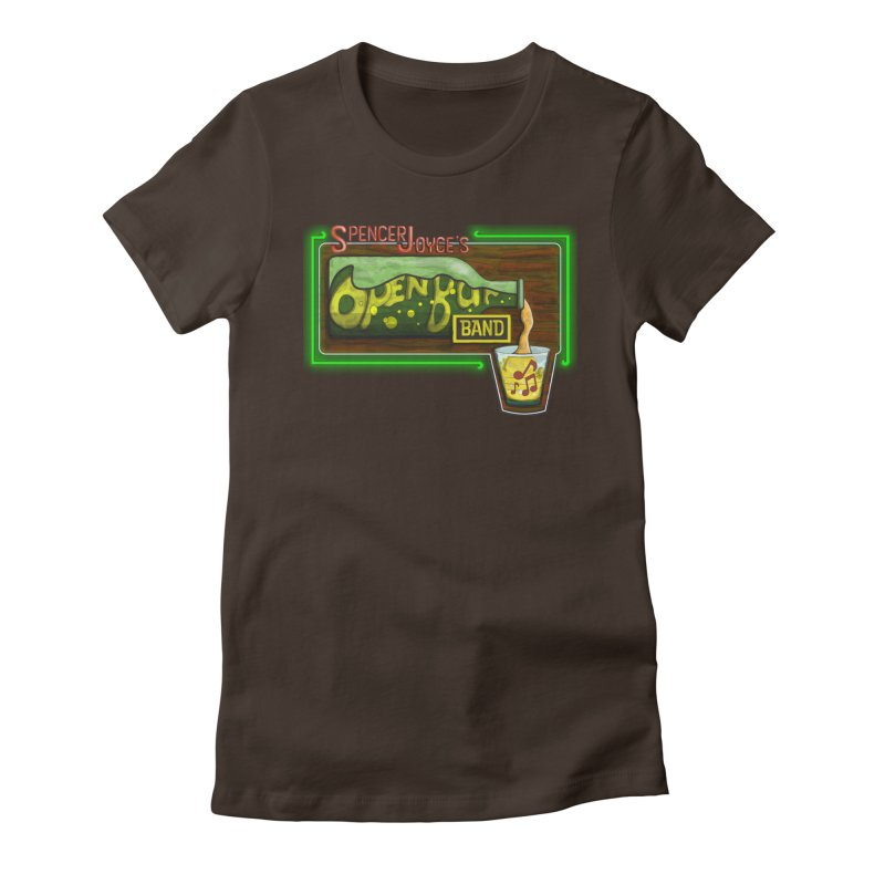 Spencer Joyce's Open Bar Women's Fitted T-Shirt by MD Design Labs's Artist Shop