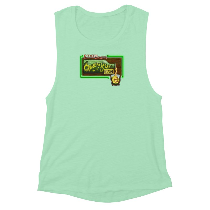 Spencer Joyce's Open Bar Women's Muscle Tank by MD Design Labs's Artist Shop