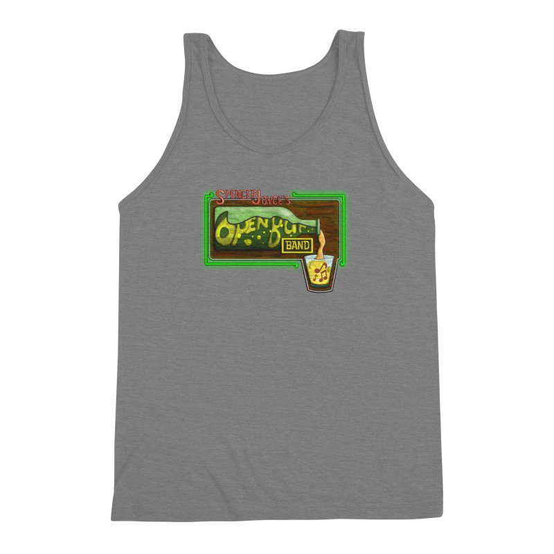 Spencer Joyce's Open Bar Men's Triblend Tank by MD Design Labs's Artist Shop