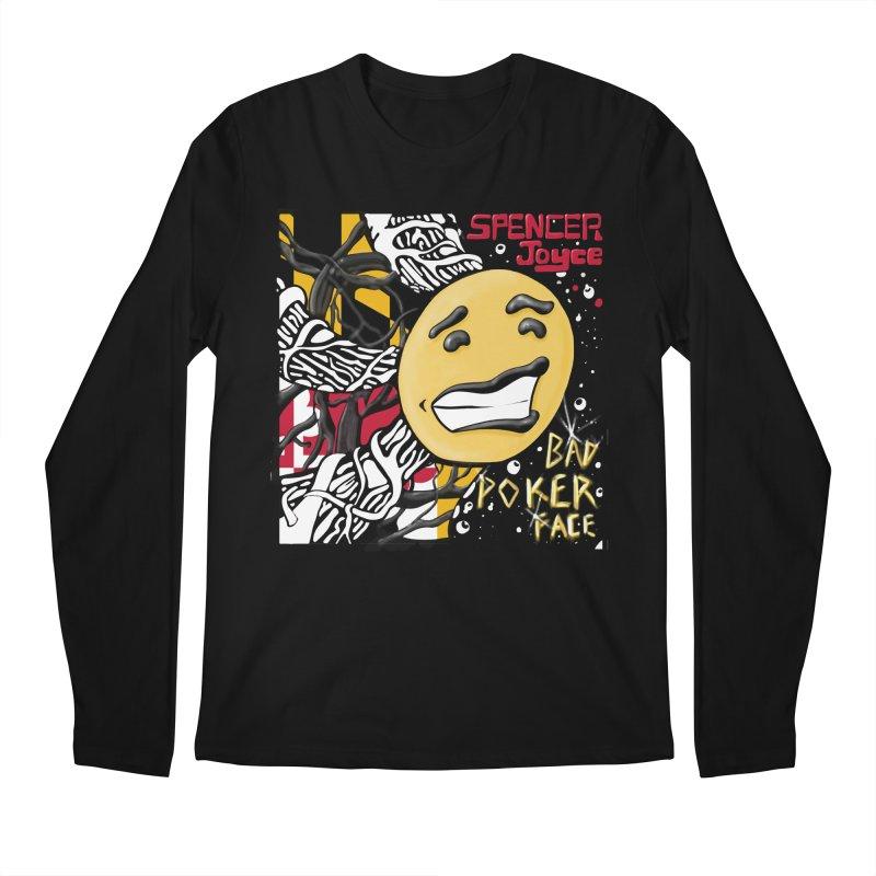 Spencer Joyce Bad Poker Face Men's Longsleeve T-Shirt by MD Design Labs's Artist Shop