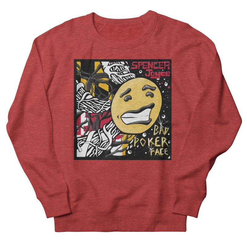Spencer Joyce Bad Poker Face Men's Sweatshirt by MD Design Labs's Artist Shop