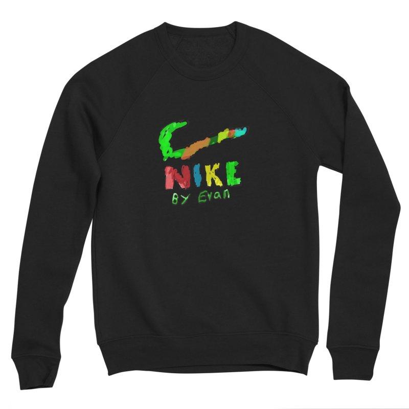 Nike by Evan Men's Sponge Fleece Sweatshirt by MD Design Labs's Artist Shop