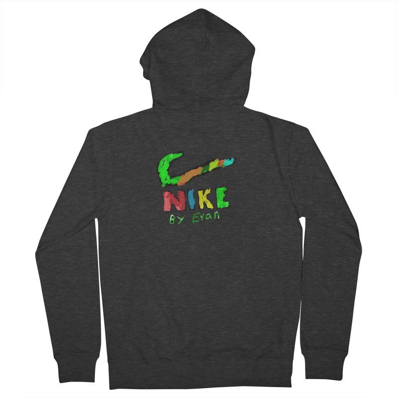 Nike by Evan Men's French Terry Zip-Up Hoody by MD Design Labs's Artist Shop