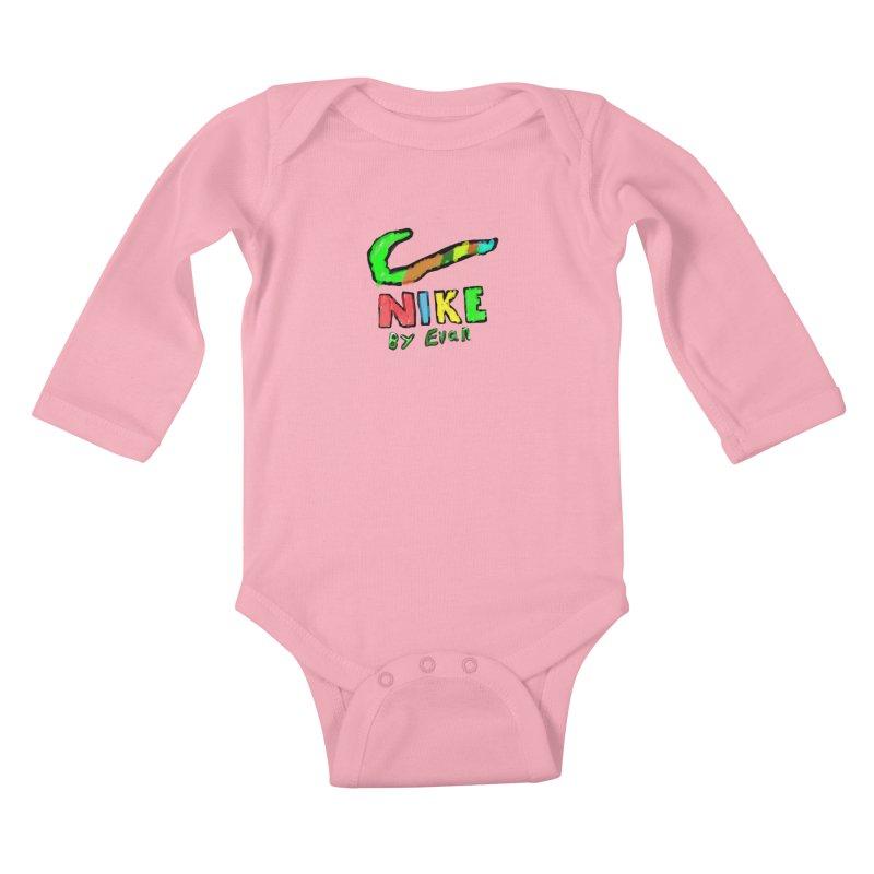 Nike by Evan Kids Baby Longsleeve Bodysuit by MD Design Labs's Artist Shop