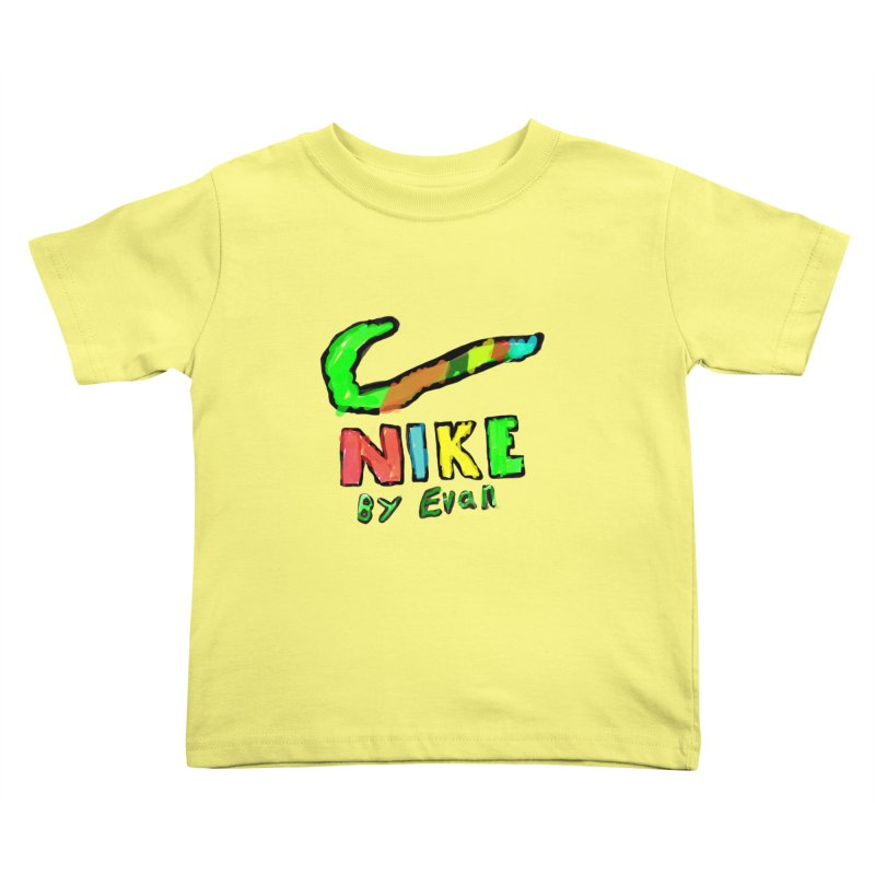 Nike by Evan Kids Toddler T-Shirt by MD Design Labs's Artist Shop