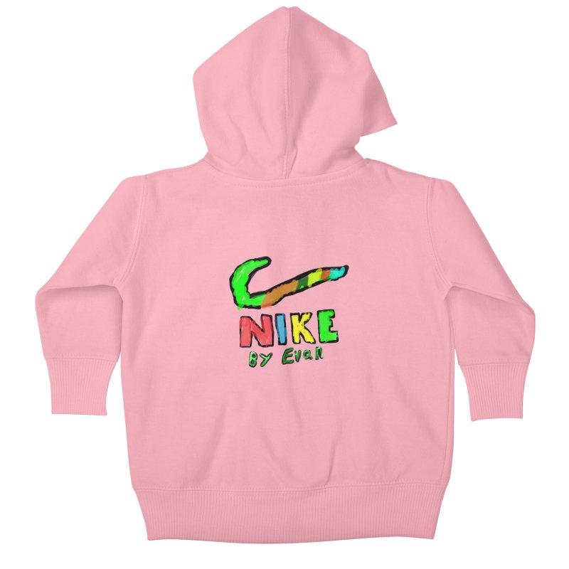 Nike by Evan Kids Baby Zip-Up Hoody by MD Design Labs's Artist Shop