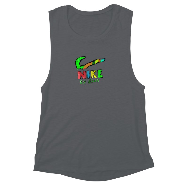Nike by Evan Women's Muscle Tank by MD Design Labs's Artist Shop