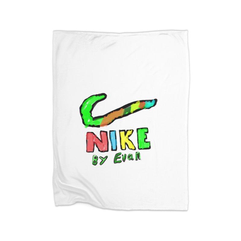Nike by Evan Home Fleece Blanket Blanket by MD Design Labs's Artist Shop