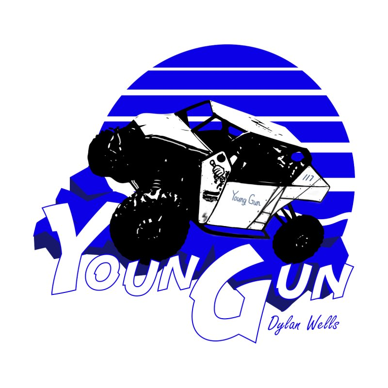 Young Gun Home Mounted Acrylic Print by MD Design Labs's Artist Shop