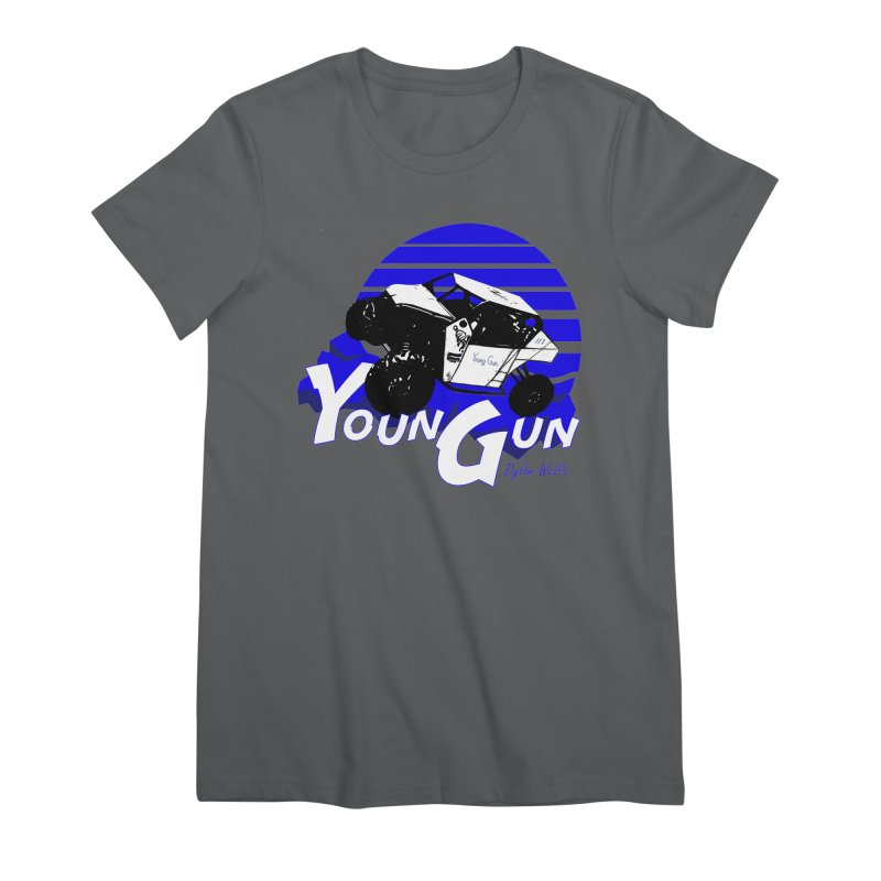 Young Gun Women's Premium T-Shirt by MD Design Labs's Artist Shop