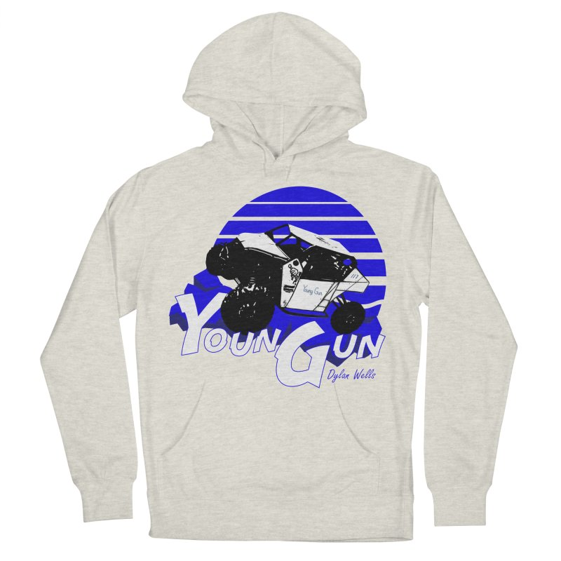 Young Gun Men's French Terry Pullover Hoody by MD Design Labs's Artist Shop