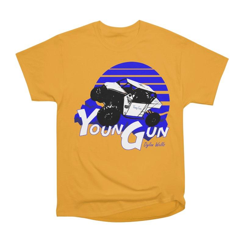 Young Gun Women's Heavyweight Unisex T-Shirt by MD Design Labs's Artist Shop