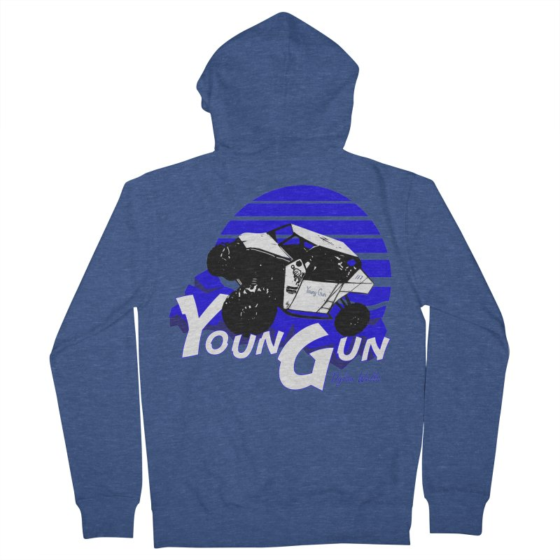 Young Gun Women's French Terry Zip-Up Hoody by MD Design Labs's Artist Shop