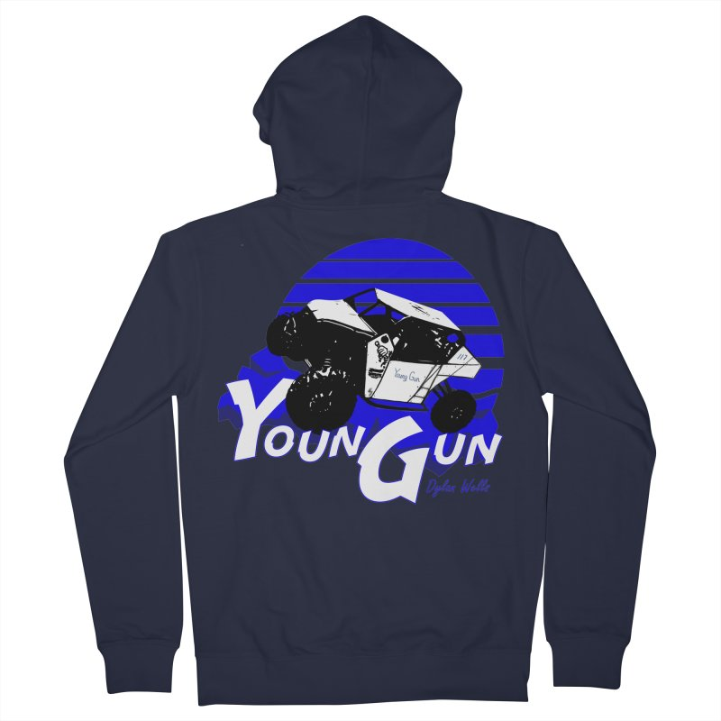 Young Gun Men's French Terry Zip-Up Hoody by MD Design Labs's Artist Shop