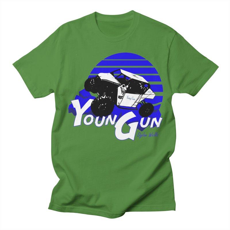 Young Gun Men's Regular T-Shirt by MD Design Labs's Artist Shop