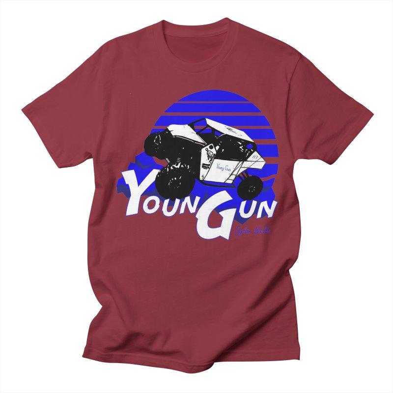 Young Gun Women's Regular Unisex T-Shirt by MD Design Labs's Artist Shop