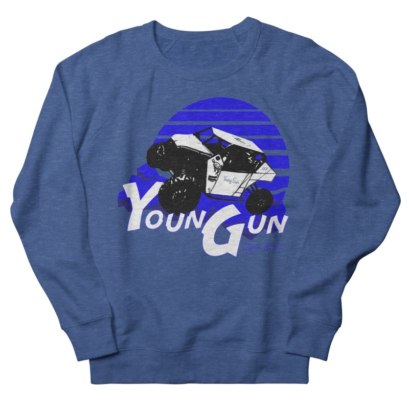 Young Gun Women's French Terry Sweatshirt by MD Design Labs's Artist Shop