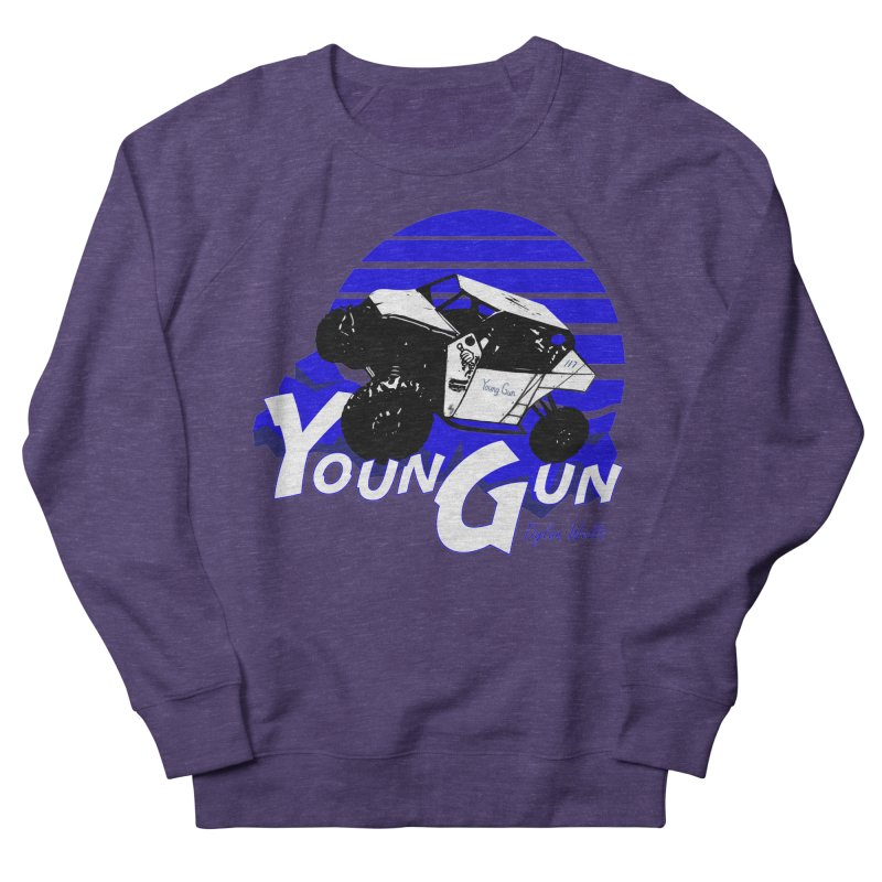 Young Gun Men's French Terry Sweatshirt by MD Design Labs's Artist Shop