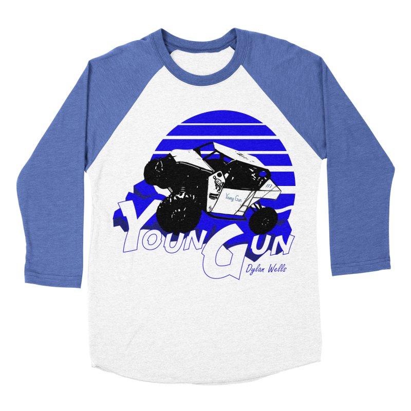 Young Gun Men's Baseball Triblend Longsleeve T-Shirt by MD Design Labs's Artist Shop
