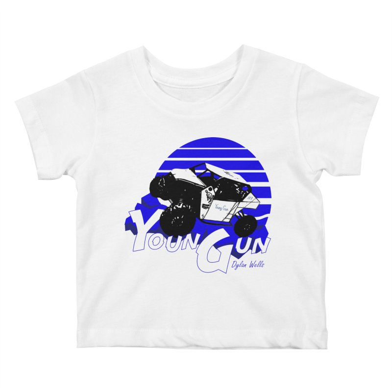 Young Gun Kids Baby T-Shirt by MD Design Labs's Artist Shop
