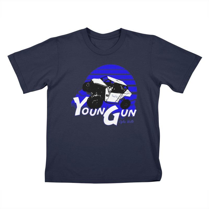 Young Gun Kids T-Shirt by MD Design Labs's Artist Shop