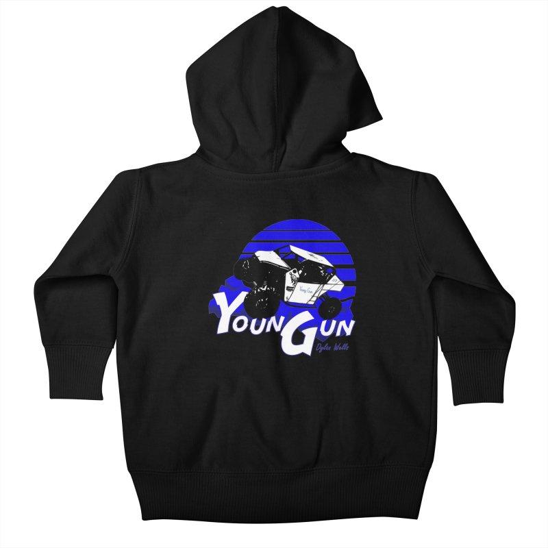 Young Gun Kids Baby Zip-Up Hoody by MD Design Labs's Artist Shop