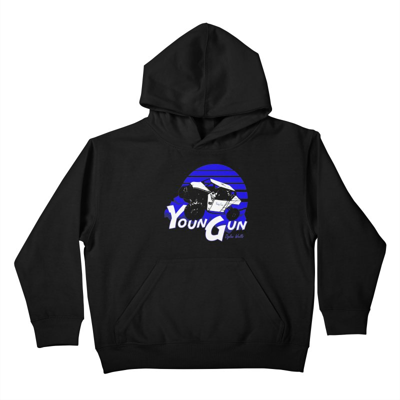 Young Gun Kids Pullover Hoody by MD Design Labs's Artist Shop