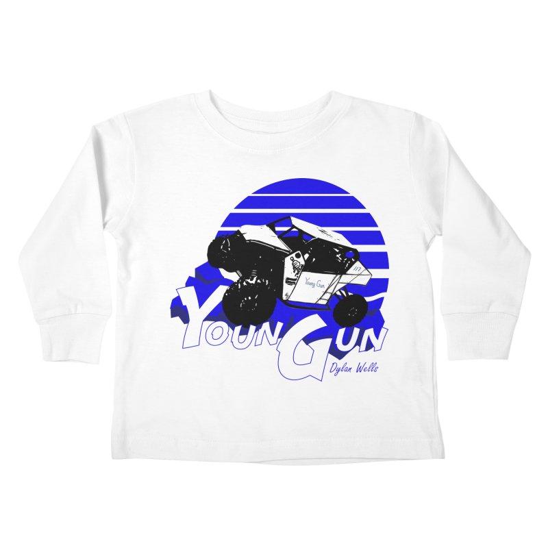 Young Gun Kids Toddler Longsleeve T-Shirt by MD Design Labs's Artist Shop