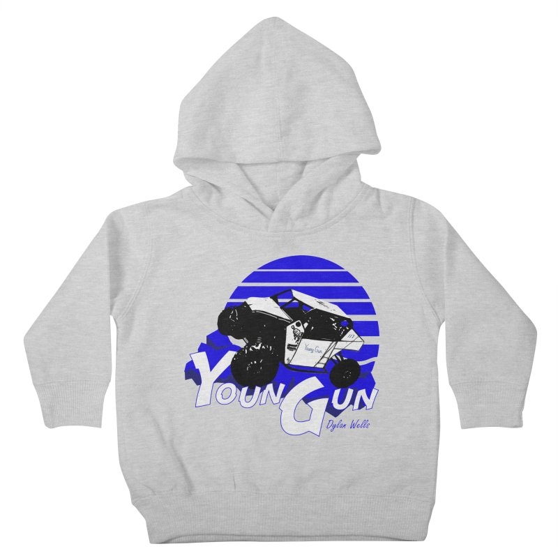 Young Gun Kids Toddler Pullover Hoody by MD Design Labs's Artist Shop