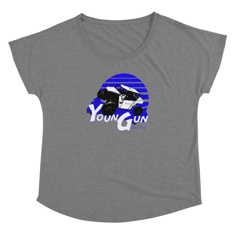 Young Gun Women's Dolman Scoop Neck by MD Design Labs's Artist Shop
