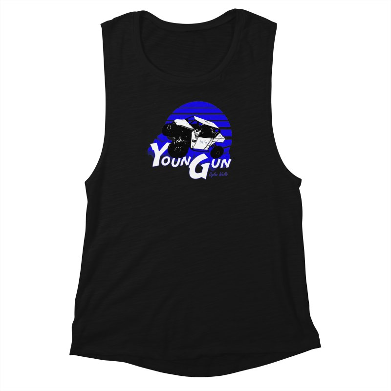 Young Gun Women's Muscle Tank by MD Design Labs's Artist Shop