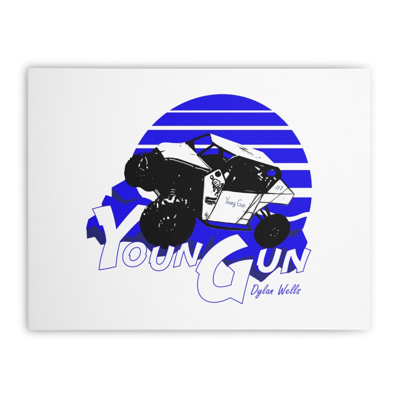 Young Gun Home Stretched Canvas by MD Design Labs's Artist Shop
