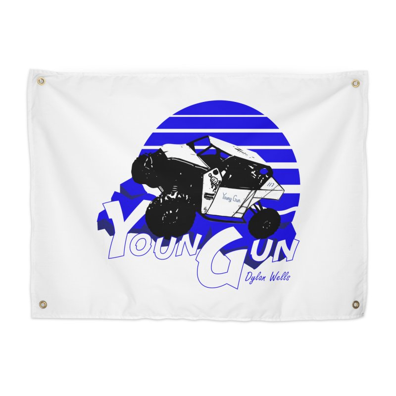 Young Gun Home Tapestry by MD Design Labs's Artist Shop