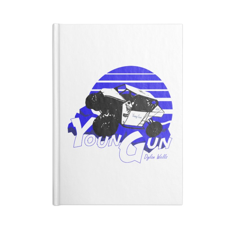 Young Gun Accessories Blank Journal Notebook by MD Design Labs's Artist Shop