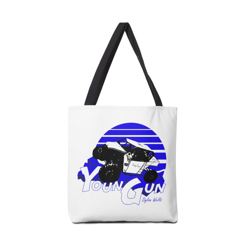 Young Gun Accessories Tote Bag Bag by MD Design Labs's Artist Shop