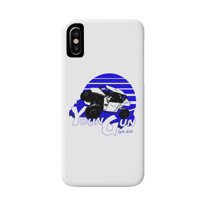 Young Gun Accessories Phone Case by MD Design Labs's Artist Shop