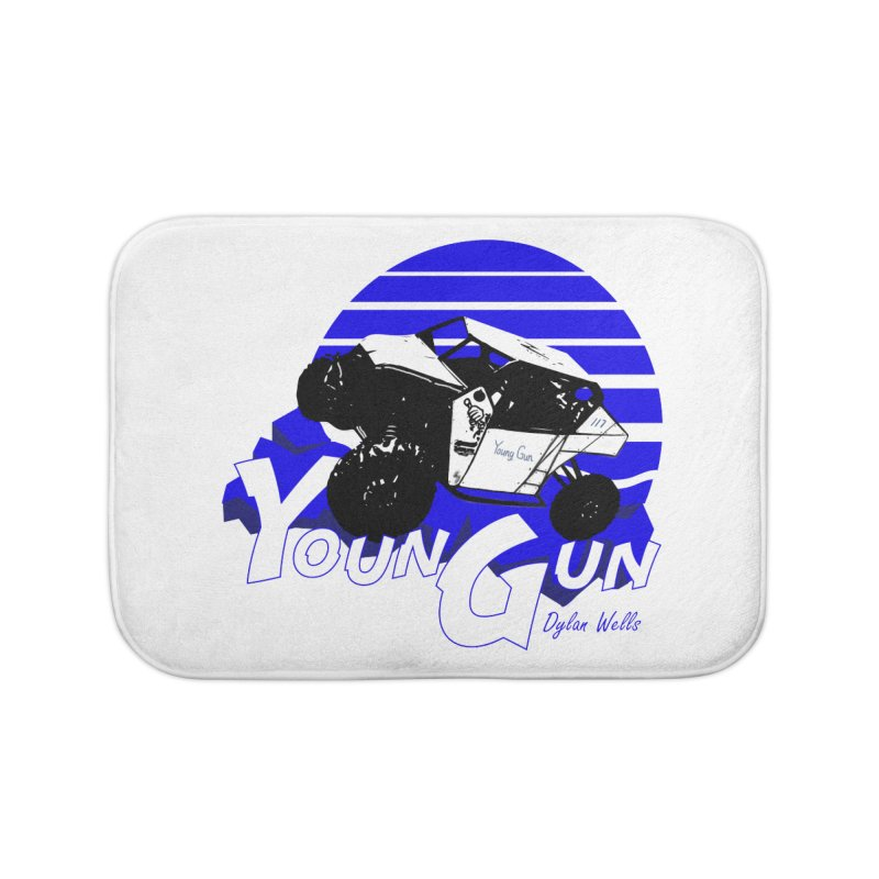 Young Gun Home Bath Mat by MD Design Labs's Artist Shop