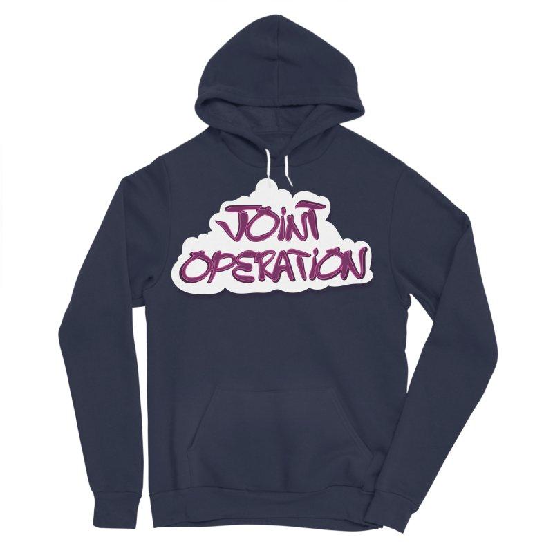 Joint Operation Clouds Women's Sponge Fleece Pullover Hoody by MD Design Labs's Artist Shop