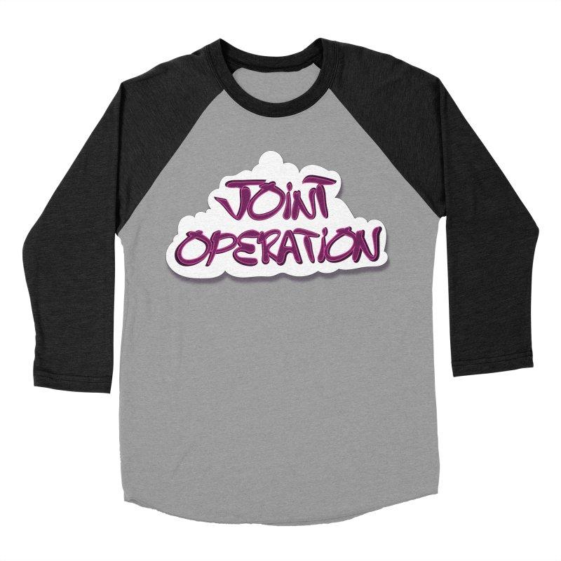 Joint Operation Clouds Women's Baseball Triblend Longsleeve T-Shirt by MD Design Labs's Artist Shop