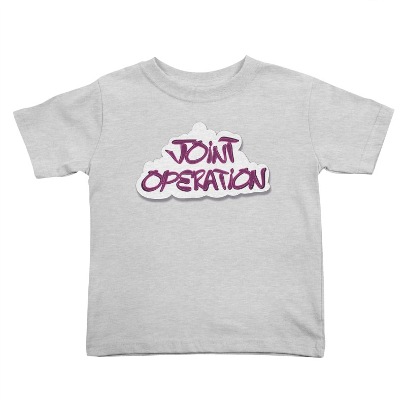 Joint Operation Clouds Kids Toddler T-Shirt by MD Design Labs's Artist Shop