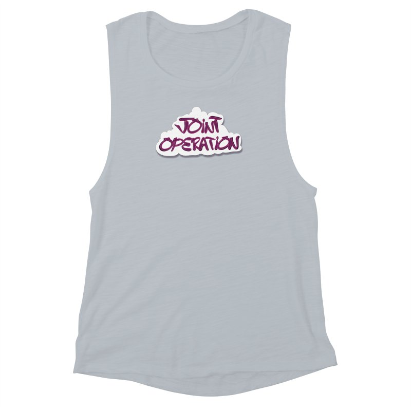 Joint Operation Clouds Women's Muscle Tank by MD Design Labs's Artist Shop