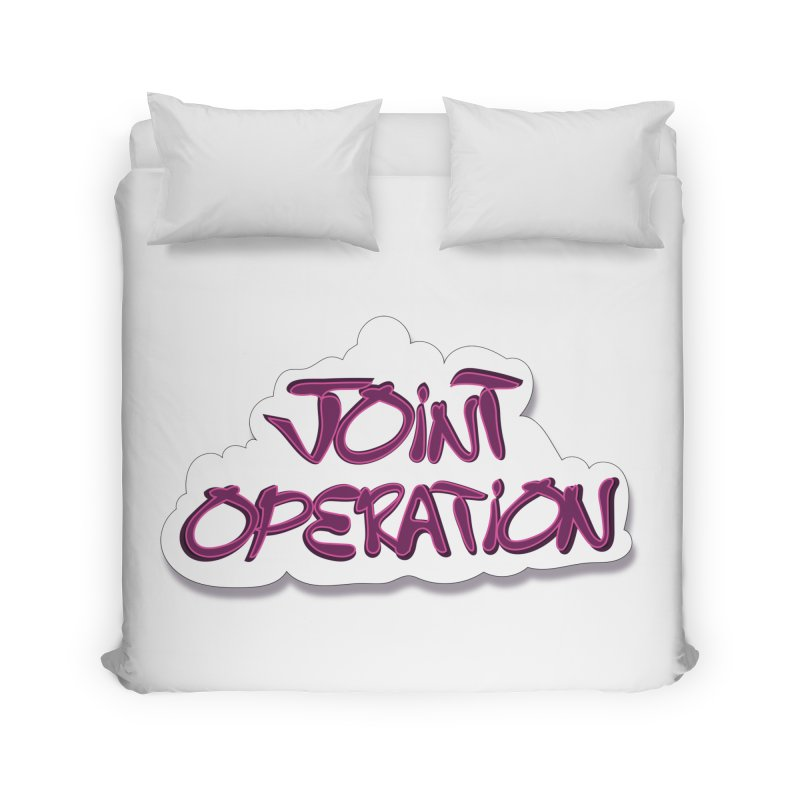 Joint Operation Clouds Home Duvet by MD Design Labs's Artist Shop