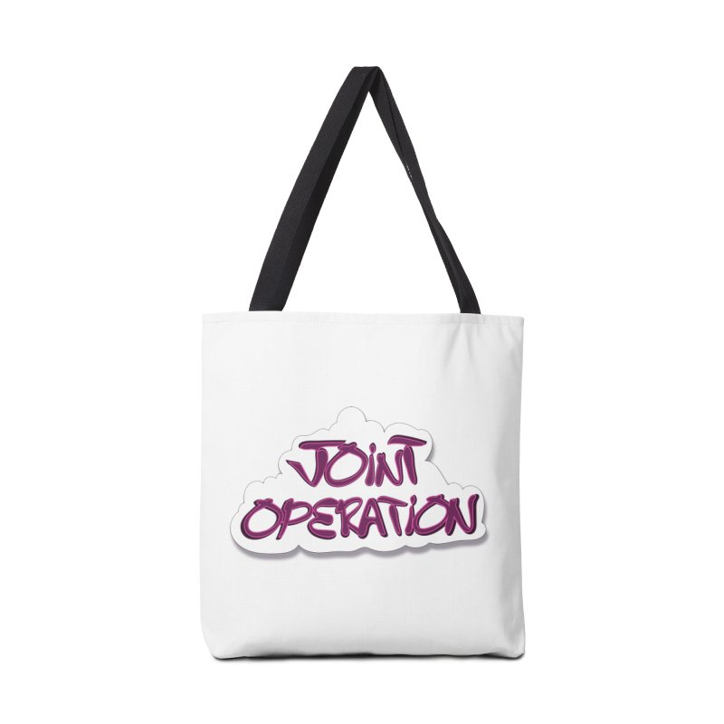 Joint Operation Clouds Accessories Tote Bag Bag by MD Design Labs's Artist Shop