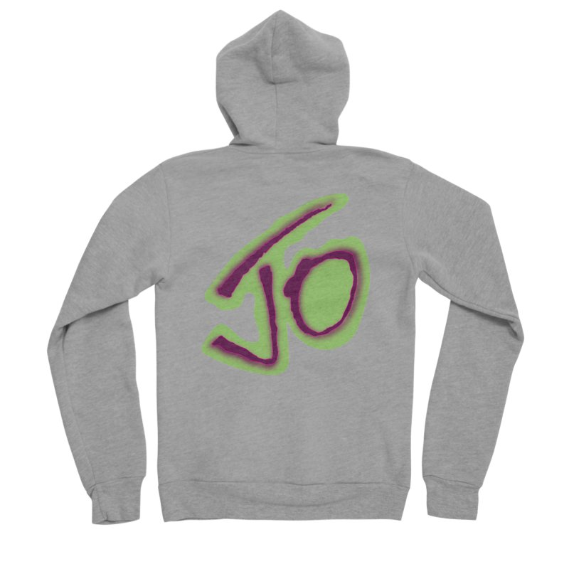 Joint Operation Purp and Guac Yo Women's Sponge Fleece Zip-Up Hoody by MD Design Labs's Artist Shop