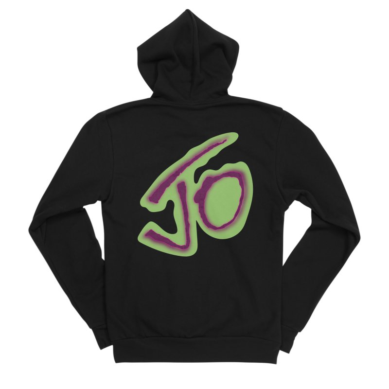 Joint Operation Purp and Guac Yo Men's Sponge Fleece Zip-Up Hoody by MD Design Labs's Artist Shop