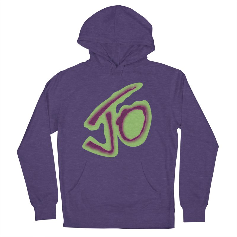 Joint Operation Purp and Guac Yo Women's French Terry Pullover Hoody by MD Design Labs's Artist Shop